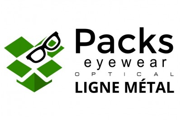 Pack Optical Eyewear Métal et plastique