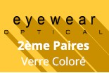 Optical Eyewear  Verre Coloré